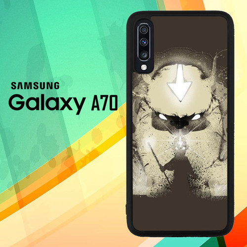 Aang and Appa X6060 Samsung Galaxy A70 Case