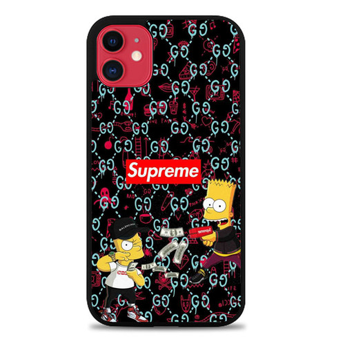 Supreme BAPE Camo W8870 iPhone 11 Case