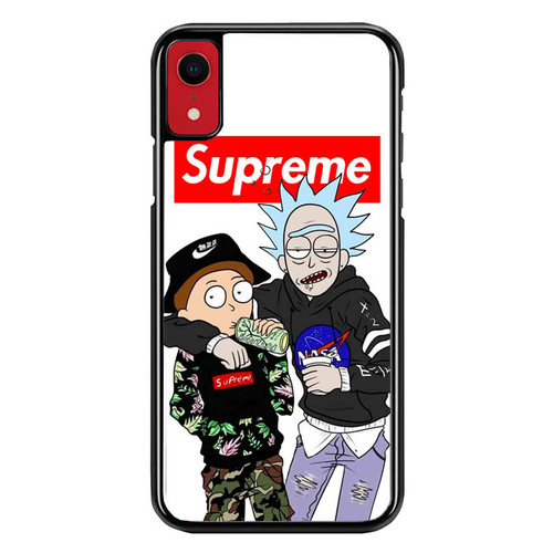 Supreme Rick And Morty L2696 iPhone XR Case