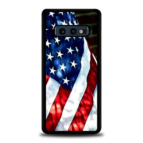4th OF July Flag Country E0888 Samsung Galaxy S10e Case