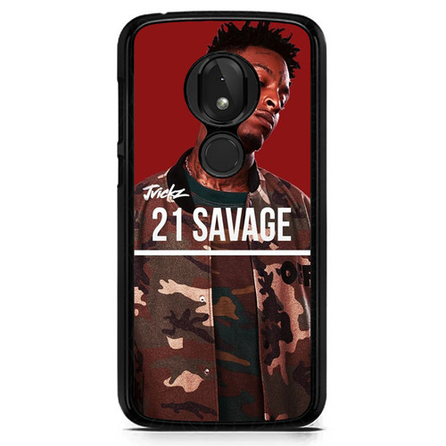 21 Savage X8590 T-Mobile Revvlry Case, Moto G7 Play / Optimo XT1952DL Case