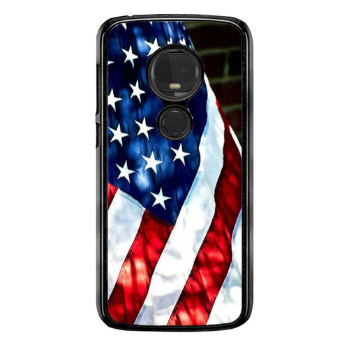 4th OF July Flag Country E0888 T-Mobile Revvlry+ Plus Case, Moto G7 , G7 Plus Case