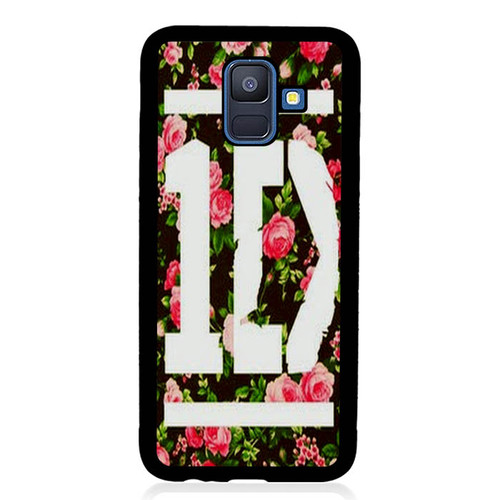 1D One Direction Floral V0288 Samsung Galaxy A6 2018 Case