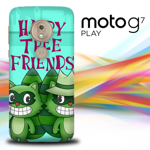 Lifty X Shifty Happy Tree Friends X2567 Motorola Moto G7 Play Case