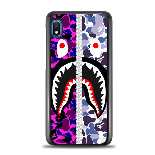Bape Purple Shark J0026  Samsung Galaxy A10e Case