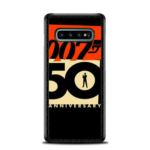 007 50 Anniversary Z5396 Samsung Galaxy S10 Plus Case