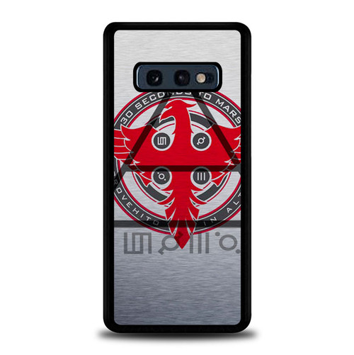 30 seconds to mars logo Z1690 Samsung Galaxy S10E , S10 Lite Case