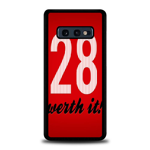 28 Werth It Jayson Werth Z7112 Samsung Galaxy S10E , S10 Lite Case