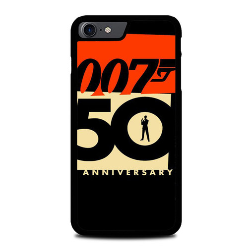 007 50 Anniversary Z5396 iPhone 7 , iPhone 8 Case