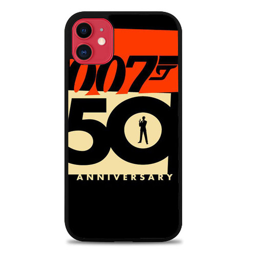 007 50 Anniversary Z5396 iPhone 11 Case