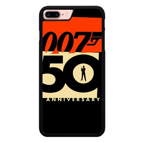 007 50 Anniversary Z5396 iPhone 7 Plus , iPhone 8 Plus Case