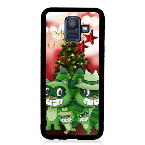 Lifty X Shifty Happy Tree Friends X02665 Samsung Galaxy A6 2018 Case