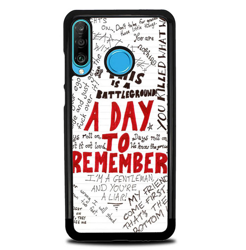 A Day To Remember WALLPAPER Y0237 Huawei P30 Lite Case