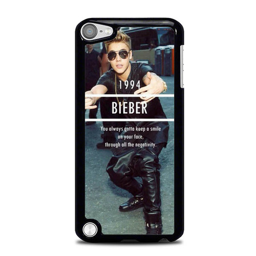 1994 Justin Bieber Believe Smile L1563 iPod Touch 5 Case