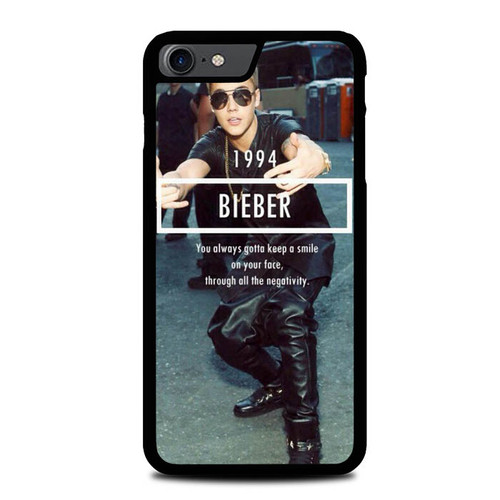 1994 Justin Bieber Believe Smile L1563 iPhone 7 , iPhone 8 Case