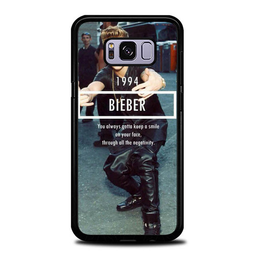 1994 Justin Bieber Believe Smile L1563 Samsung Galaxy S8 Plus Case