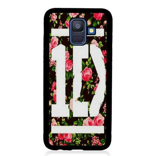 1D One Direction Floral O3331 Samsung Galaxy A6 2018 Case