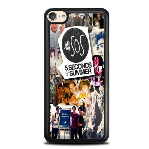 5 Second Of Summer Colleges 2 O3419 iPod Touch 6 Case