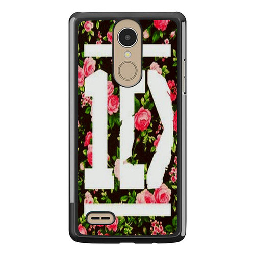 1D One Direction Floral O3331 LG K8 2017 / LG Aristo / LG Risio 2 / LG Fortune / LG Phoenix 3 Case
