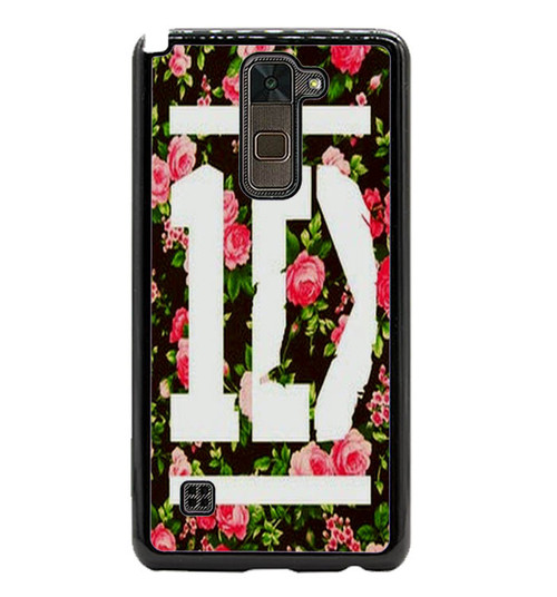 1D One Direction Floral O3331 LG Stylus 2 , LG Stylo 2 Case