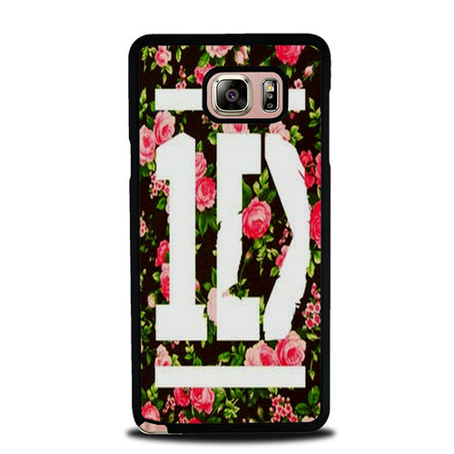 1D One Direction Floral O3331 Samsung Galaxy Note 5 Case