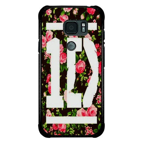 1D One Direction Floral O3331 Samsung Galaxy S7 Active