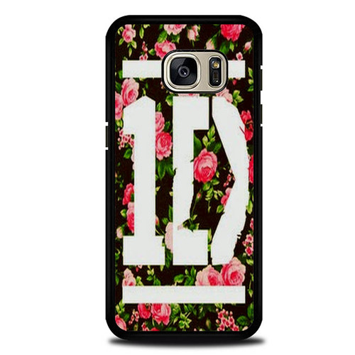 1D One Direction Floral O3331 Samsung Galaxy S7 Case