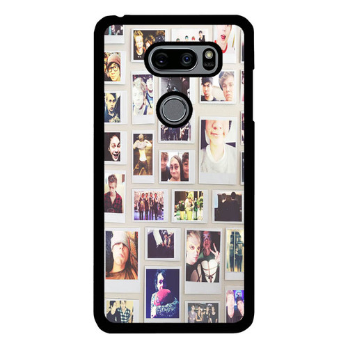 1 Direction Collage O3332 LG V30 , LG V30S , V30 Plus, V35 , V35 ThinQ Case