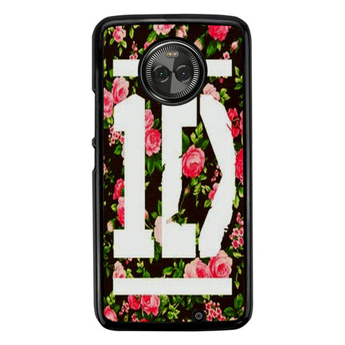 1D One Direction Floral O3331 Motorola Moto X4 Case