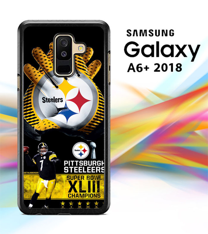 Pittsburgh Steelers NFL X4840 Samsung Galaxy A6 Plus 2018 Case