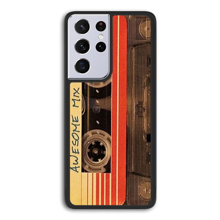 Awesome Mix Vol 1 P1127 Samsung Galaxy S21 Ultra 5G Case