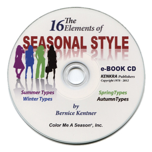 The 16 Elements of Seasonal Style - Book on CD
