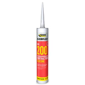 Everbuild Silicone 200 Brown 295ml (200BN)