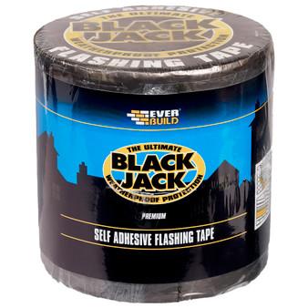 Everbuild Black Jack Flashing Tape10M 100mm