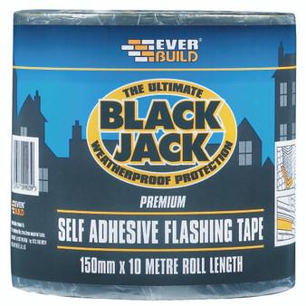 Everbuild Black Jack Flashing Tape10M 150mm