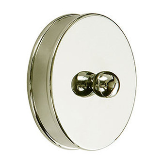 Cheshire Mouldings Brass Brass Short End Cap Pack of 2 (RBM01BR)