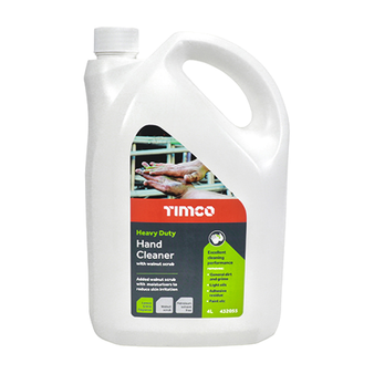 TIMCO Heavy Duty Hand Cleaner Hand Walnut Scrub with Citrus 4L (1 Bottle) (432055)