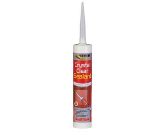 Everbuild Crystal Clear Sealant 290ml (CRYCL)