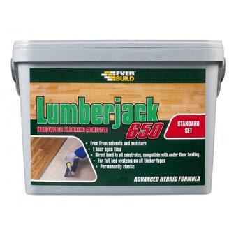 Everbuild Lumberjack 650 Floor Adhesive for wooden floors