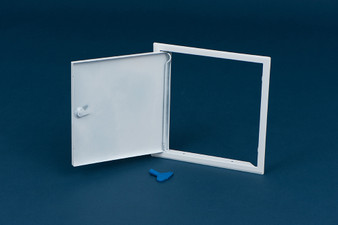 Timloc White Metal Access Panel - NON Fire Rated (APB000x000NFR)