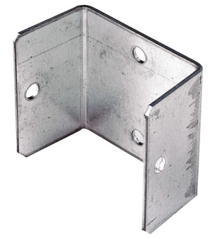 Birkdale Galvanised Metal Fence Panel Fixing Bracket Clip 45 x 50mm