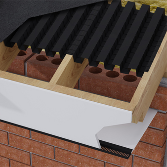 Timloc Roll Formed Eaves Vent 6m roll (LOC1121)