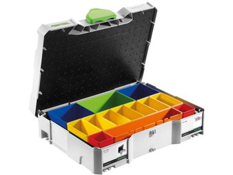 Festool SYS 1 BOX Sortainer with Removable Containers - 497694