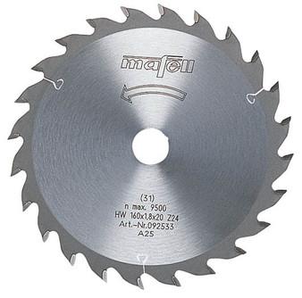 Mafell TCT Universal Saw Blade 160 x 20 x 1.8mm (24 Teeth) - 092533