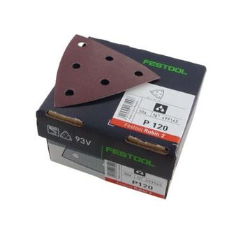Festool RUBIN 2 STF V93/6 Sandpaper For Delta Sanders - Grit: P40 - P220