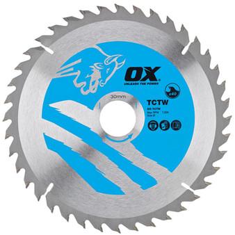 OX Wood Cutting Circular Saw Blade (OX-TCTW)