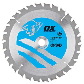OX Wood Cutting Thin Kerf Circular Saw Blade (OX-TCTW-TF)
