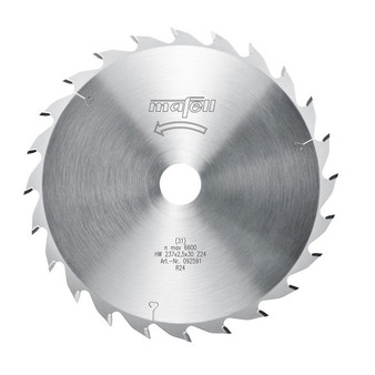 Mafell TCT Circular Saw Blade 237 x 30 x 1.8/2.5mm - 24 Teeth (092 591)
