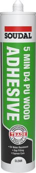 Soudal 5 Minute D4 PU Wood Adhesive
