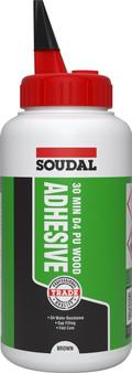 Soudal 30 Minute Bond D4 PU Wood Adhesive Liquid 750 gr Bottle (134053)